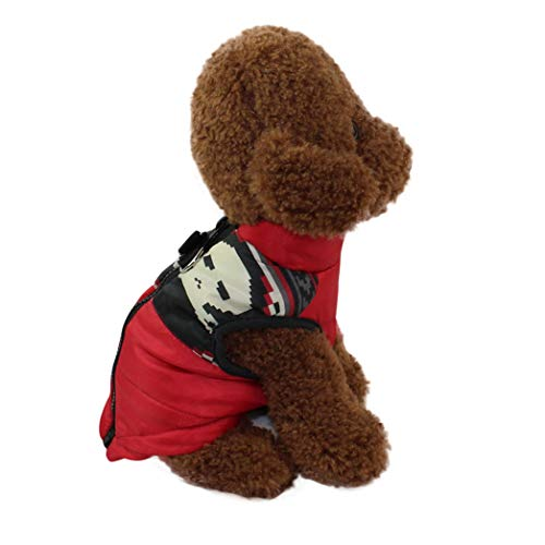 SENERY Winter Pet Dog Clothing Vest Jacket,Puppy Down Cute High-Necked Vest Pet Clothing Costum]()
