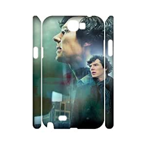 HXYHTY Sherlock Phone 3D Case For Samsung Galaxy Note 2 N7100 [Pattern-1]