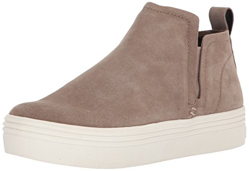 Dolce Vita Women's Tate Sneaker, Taupe Suede, 9.5 M US