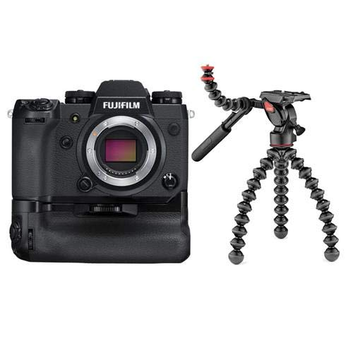 Fujifilm X-H1 24.3MP Mirrorless Digital Camera Body with Ver