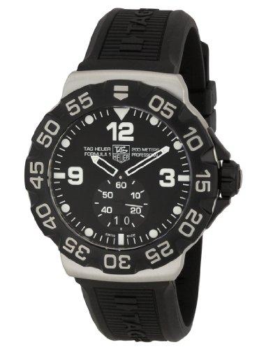 TAG Heuer Men's WAH1010BT0717 Formula One Grande Date Black Dial Watch