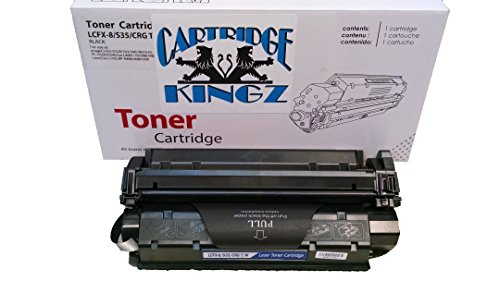Cartridge Kingz S35 Compatible Toner Cartridge for use in Canon Printers, Image Class D320, D340, D383, Canon FAX- 170 FAXPHONE L170, FAXPHONE L400, Laser Class 510. Yields 3,500 Pages