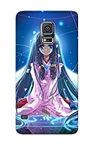 Storydnrmue Tpu Case For Galaxy S5 With Anime Air Kanna Kannabi No Mikoto, Nice Case For Thanksgiving Day's Gift