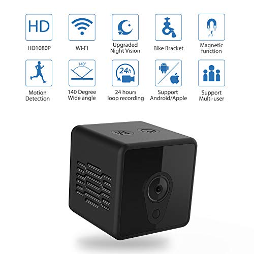 Plates Motion Control Charge (Mini Spy Camera WiFi, Jayol 1080P Spy Hidden Camera Upgraded Night Vision and Motion Detection Spy Cam, Portable Nanny Cam for Home/Office Security and Outdoor ( With Cell Phone App))
