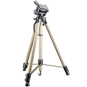 Walimex Basic WT-3570 - Trípode con inclinador 3D ( incluye bolsa de transporte), beige y negro
