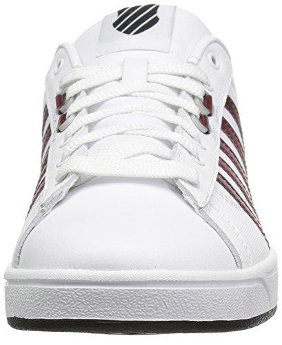 K-Swiss Women's Hoke CMF Sneaker White/Beetroot Purple/Black clearance online clearance Manchester 6bfPJ68lqb