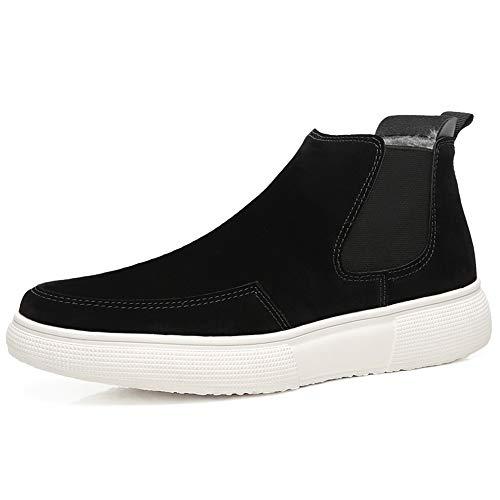 Sry Hombre shoes De Negro Botas Papel Para XXPrwf