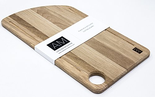 The Chêne by L'atelier Moderne, Oak Wood Cutting Board 11x20