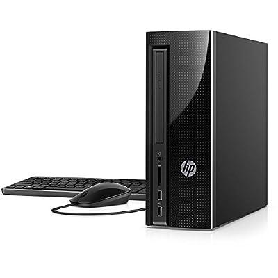 "HP Slim 270-p013wb Desktop and 21.5"" Monitor Bundle, Intel Pentium G4560T, 4GB Memory, 1TB HDD, Windows 10"
