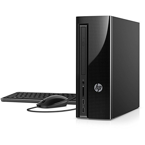 Newest HP Slimline Flagship High Performance Desktop PC | Intel Core i7-7700T Quad-Core | 16GB RAM | 1TB HDD | DVD +/-RW | Bluetooth | Keyboard & Mouse | Windows 10 (Black)