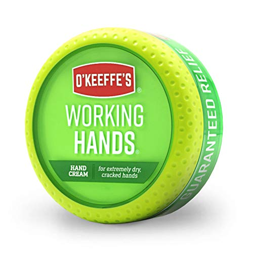 O'Keeffe's Working Hands Hand Cream, 3.4 ounce Jar (Best Lotion For Soft Hands)
