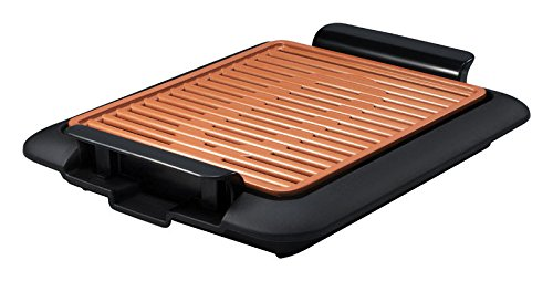 GOTHAM STEEL Smokeless Electric Grill Portable and Nonstick As Seen On TV (Original)