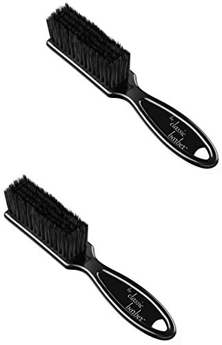 Two Blade / Clipper Cleaning Brushes by The Classic Barber (1