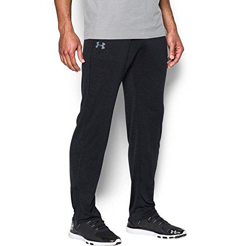 Under Armour Men's Tech Pants, Black/Steel, Small