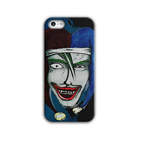 Smiling Scary Clown Joker Laugh NEW Black 3D iPhone 5 / 5S Case | Wellcoda (Scary Smiling Clown)