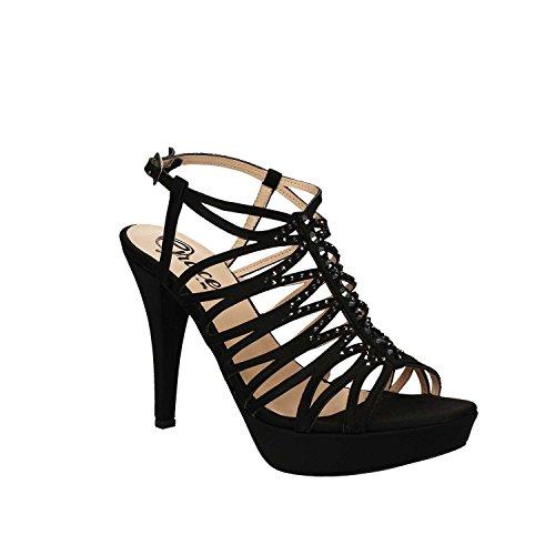 Tacco Nero Grace Donna Sandalo Shoes 3023 0Xzwftq