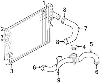 Amazon.com: Mopar 5202 8813AC, Radiator Coolant Hose: AutomotiveAmazon.com