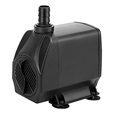 KEDSUM 880GPH Submersible Aquarium Water Pump Hydroponic Fountain Powerhead, Higher Speed Flow, Multifunction for Fish Tank Pond Rockery Waterfall