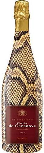 シャルル・ド・カザノーヴ ブリュットナチュール 750ml 正規 蛇柄ボトル