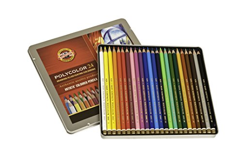 Koh I Noor Polycolor Drawing Assorted FA3818 24 product image