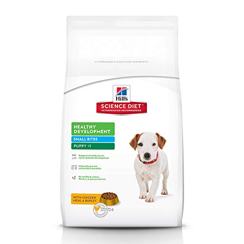 Hill's Science Diet Puppy Small Bites Chicken Meal & Barley Recipe Dry Dog Food, 15.5 lb bag