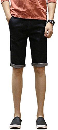 Lovelelify Men Clothing FRTCV Mens Flat Front Shorts Slim Fit Short Casual Chino Shorts