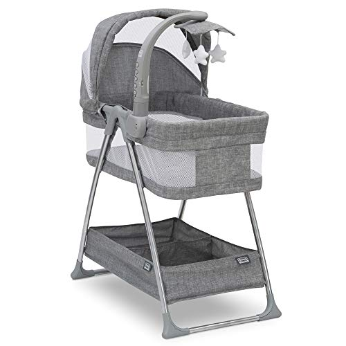 Simmons Kids City Sleeper Bassinet, Grey Tweed (Simmons Kid Bassinet)