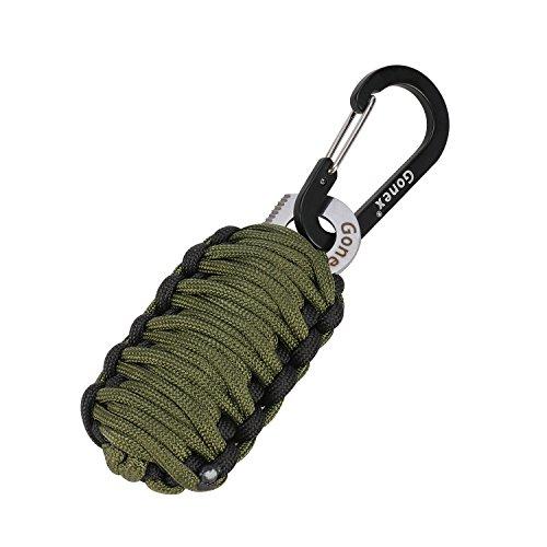 Gonex Survival Keychain Emergency Carabiner