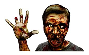 FanWraps Zombie Window Buddies Gory Gary Car Decal