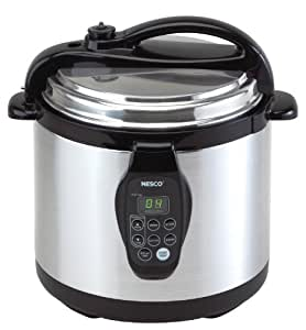 Nesco American Harvest PC-6-25-30TPR 6-Quart Multifunction Digital Pressure Cooker