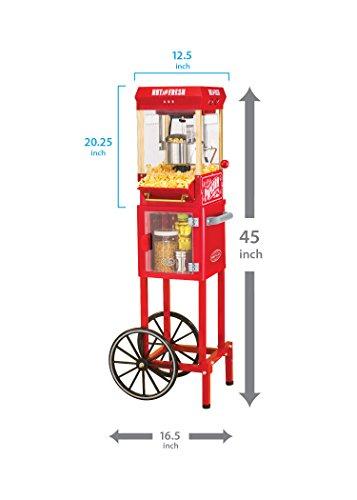 Nostalgia Popcorn Cart 48 1 ea