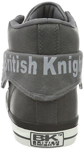 British Knights Roco - Zapatilla alta Hombre Grau (Dk Grey 10)
