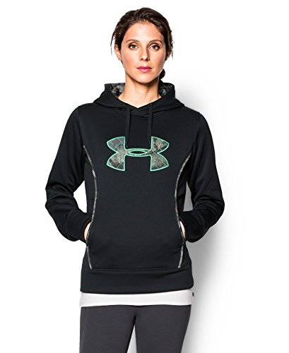 Under Armour Women's Storm Caliber Hoodie, Black (003), Small
