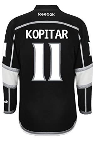 2eb721d2250 Los Angeles Kings Anze KOPITAR #11 Official Home Reebok NHL Hockey Jersey  (SEWN TACKLE TWILL NAME / NUMBERS), Jerseys - Amazon Canada