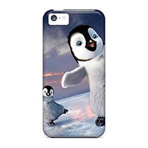 Iphone High Quality Tpu Case/ 2011 Happy Feet 2 IJvRHem3021tIfTs Case Cover For Iphone 5c