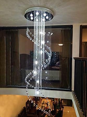 ZAsee - Lámpara de techo con doble espiral para Porch ...