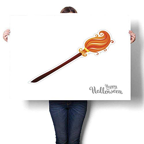 MartinDecor Home Decor Halloween Art Illustration 2 Decorative Fine Art Canvas Print Poster K 24