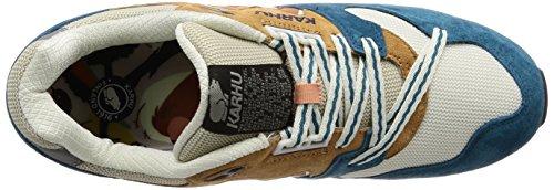e Mesh Azzurra Classic Multicolor Suede Bianca Gialla e Sneaker in Karhu Synchron 6ZYqYz