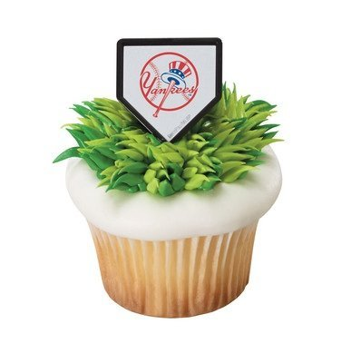 - MLB New York Yankees Cupcake Rings - 24 ct