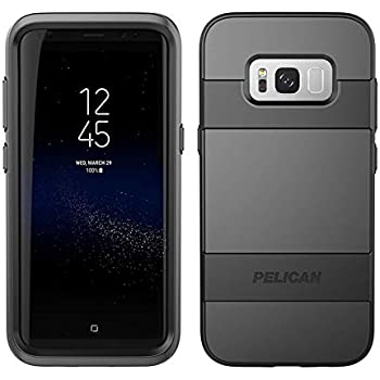 Amazon.com: Pelican Voyager Samsung Galaxy S8+ Case - Black ...