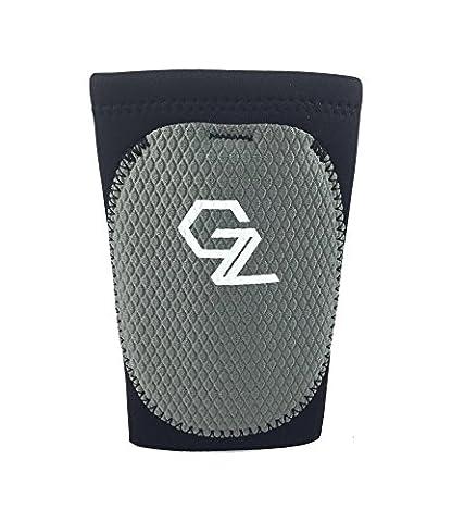 "Protective Compression Wrist Guard-Baseball, Kettlebell, Lacrosse, Field Hockey, Fitness-Adjustable Custom Impact Shield -Durable 6"" Neoprene Sleeve (X-Large, - Hockey Wrist Guards"