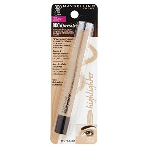 Maybelline Brow Precise Perfecting Eyebrow Highlighter, Light, 0.04 oz.