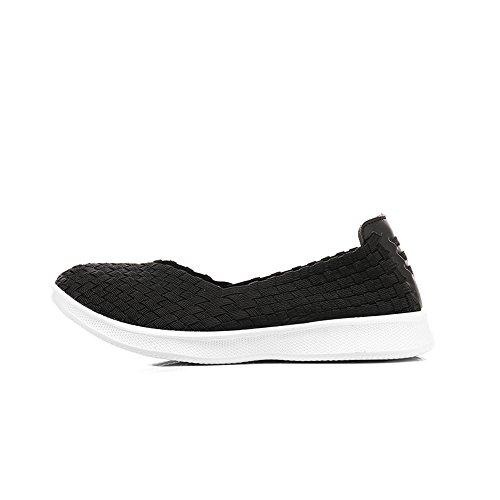 Damen Sandalen Trainer Wasser Schuhe Slipper On für gewebt leichte Sneakers Komfort Monrinda Sport Frauen Casual Flache elastische Slip 8wqv7x1ASI