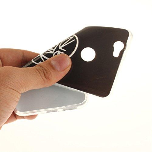 Silicone Peint Scratch Motif Cas Cas Protection Slim De Téléphone Transparent Hozor Bord Nova En Résistant Couverture Souple Antichoc Huawei Arrière curse Fit TPU De aqntI8