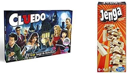 Hasbro Gaming - Cluedo (Hasbro 38712521) (versión en portugués ...