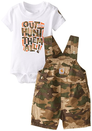 Carhartt Baby Boys Brown Shortall product image