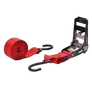 Filmer 37032 - Cincho (trinquete grande, capacidad de carga de 480kg), color rojo