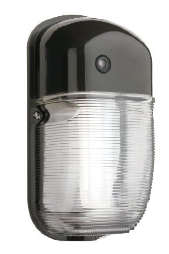 Lithonia Lighting OWP3 42F 120 P LP BZ M4 Outdoor Mini Wall Pack Dusk to Dawn Photocell, Black Bronze by Lithonia Lighting
