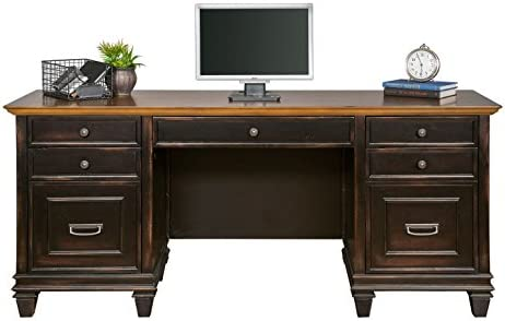 Martin Furniture Hartford Credenza, Brown – Fully Assembled