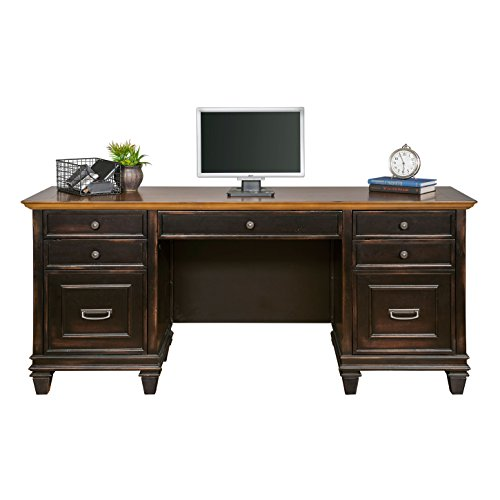 Martin Furniture Hartford Credenza, Brown - Fully Assembled ()